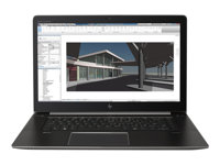 "HP ZBook Studio G4 Mobile Workstation - 15.6"" - Core i7 7820HQ - 16 GB RAM - 512 GB SSD - svenska Y6K33EA#AK8"