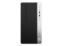 HP ProDesk 400 G4 - microtower - Core i5 7500 3.4 GHz - 8 GB - 256 GB 1JJ56EA#UUW