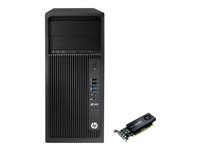 HP Workstation Z240 - MT - Core i7 6700 3.4 GHz - 16 GB - 512 GB BJ9C07EA01