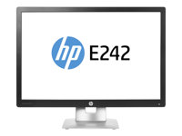 "HP EliteDisplay E242 - LED-skärm - 24"" M1P02AA#ABB"